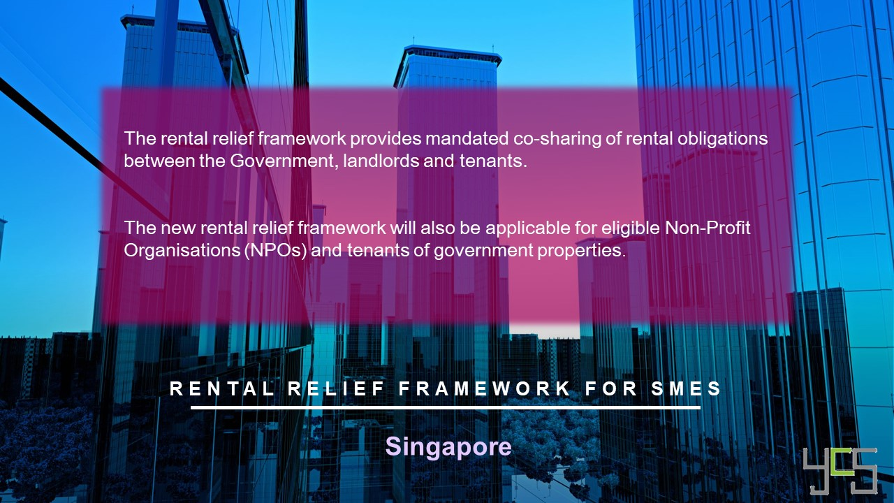 Rental Relief Framework for SMEs